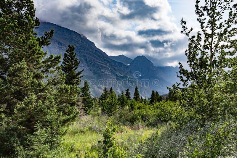 Glacier National Park immagini stock