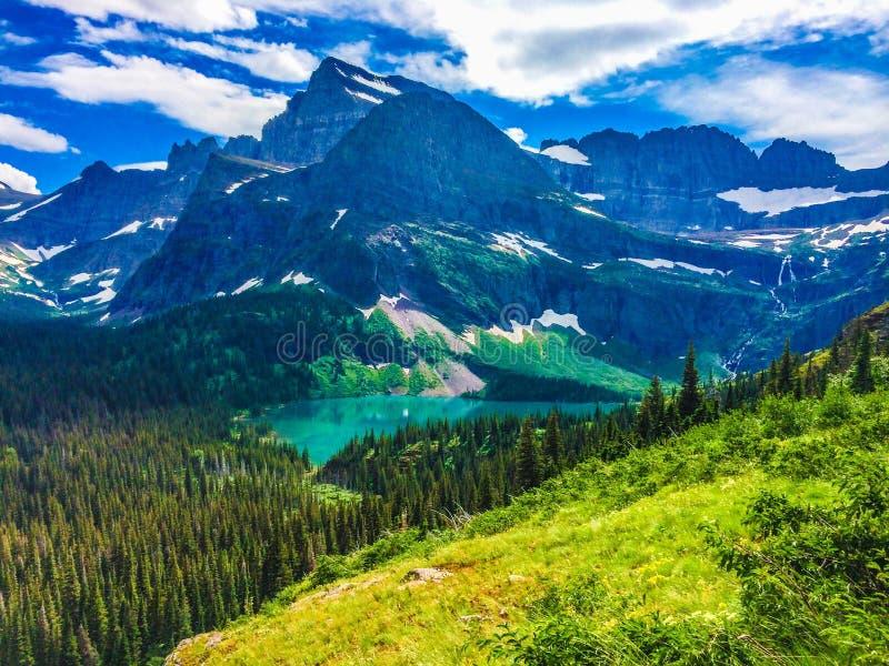 Download Glacier national park stock image. Image of lake, glacier - 43573551