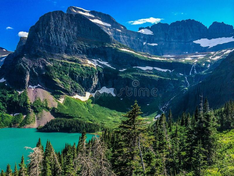 Download Glacier national park stock photo. Image of park, lake - 43573836