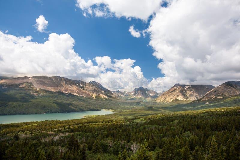 Glacier National Park landscape royalty free stock photography