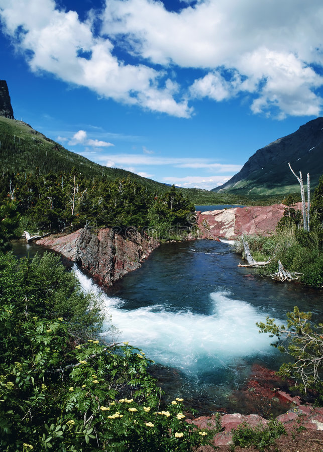 Download Glacier Park A stock photo. Image of resource, mountains - 3285194
