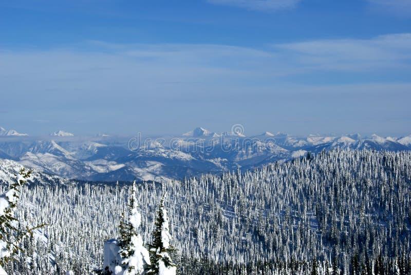 Glacier Park Skyline stock images