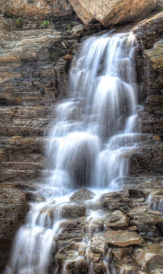 Download Glacier Park Waterfall stock photo. Image of idyllic - 13454506