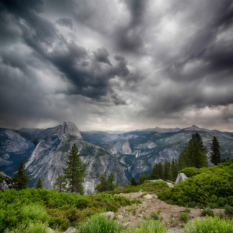 Download Glacier Point stock image. Image of america, beautiful - 33197629