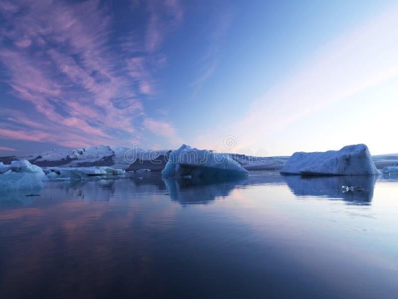 Glacier Pond Royalty Free Stock Image