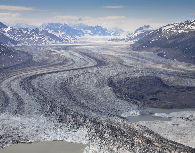 Glacier At St Elias Range Stock Photos