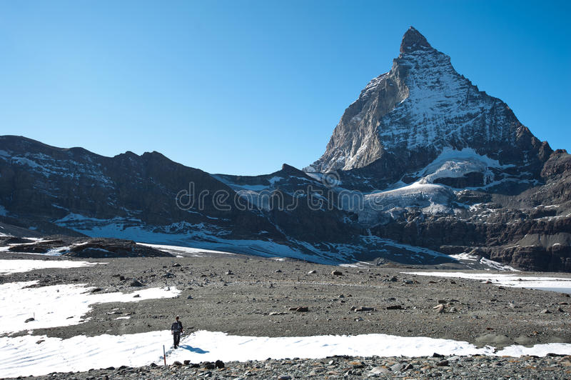 Download Glacier trail hike stock image. Image of weather, european - 22942851
