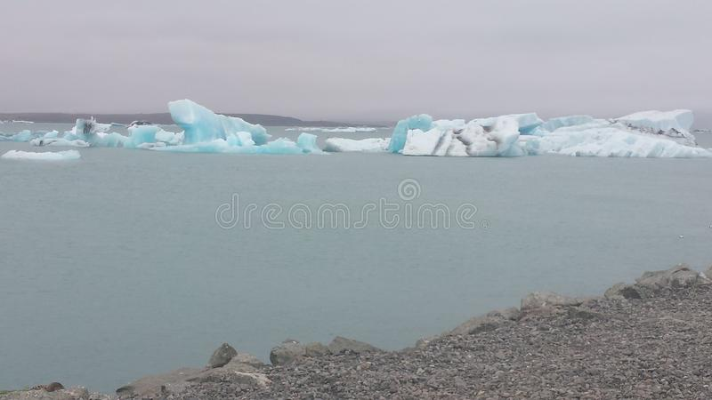 Glacier. stock photo