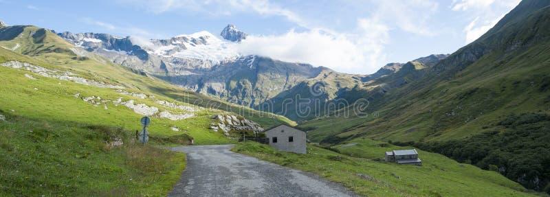 Glaciers de DES de Ville image stock