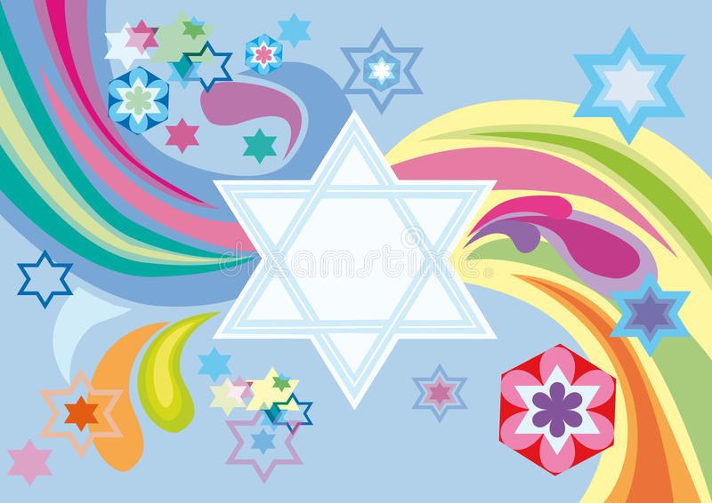 Download Glad Background To The Jewish Holiday Stock Vector - Image: 15932904
