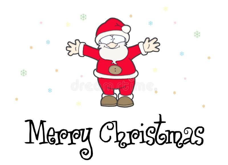 Glad Jul Arkivfoton