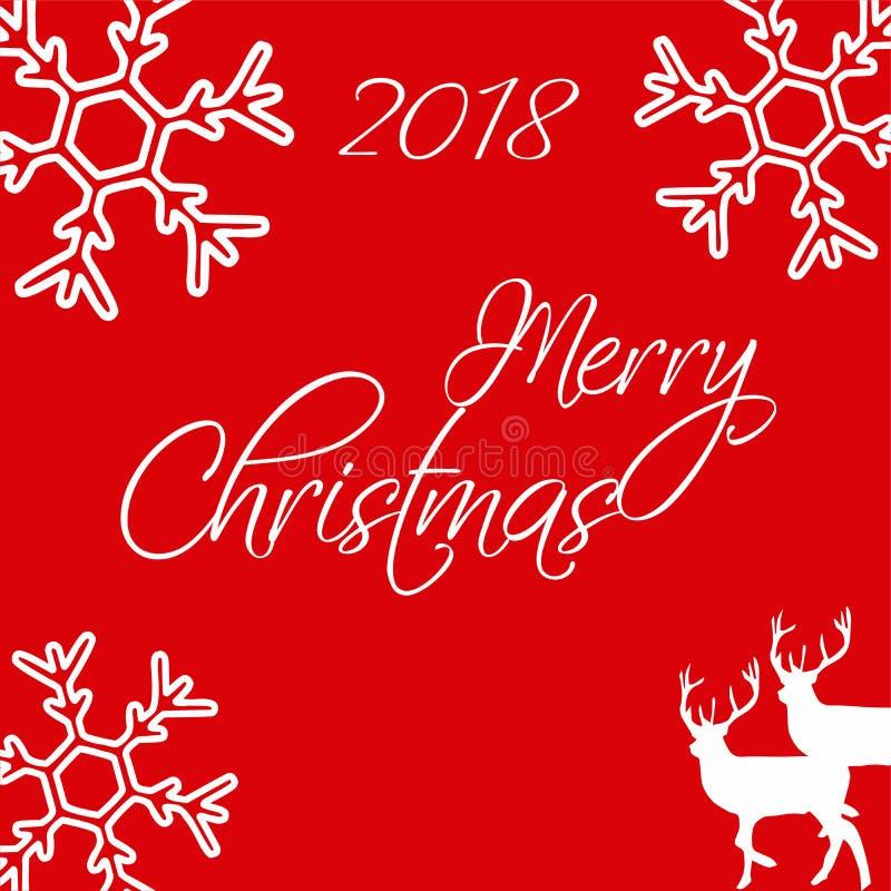 glad jul glad jul Användbart för bakgrund, hälsningkort, gåvor etc. vektor illustrationer