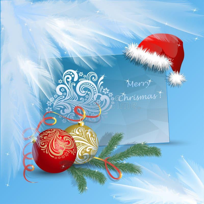 Glad jul för lyckönskan, lyckligt nytt år royaltyfria bilder