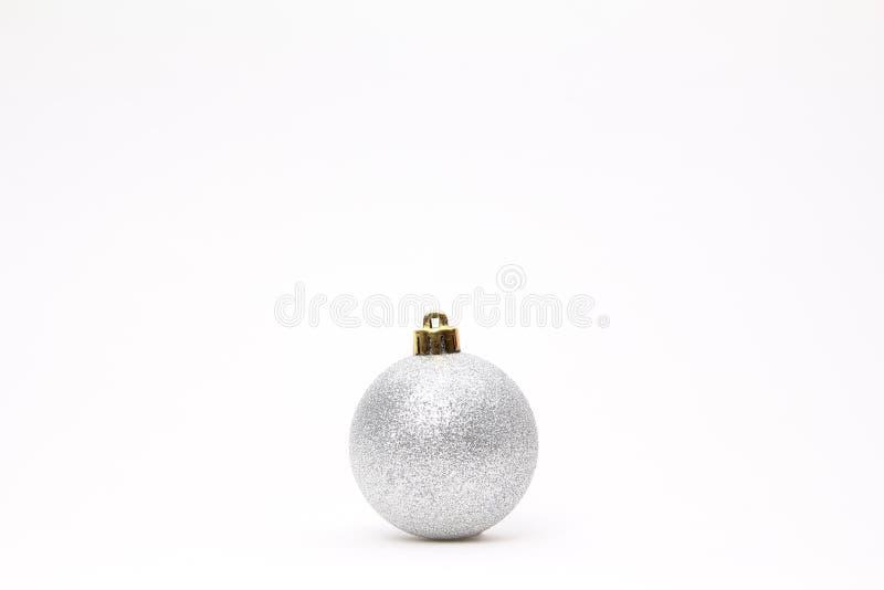 Glad jul framme av en vit bakgrund arkivfoto
