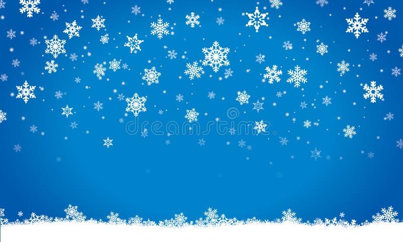 Glad jul, inbjudan, vykort, bakgrund, vinter, garnering royaltyfri illustrationer