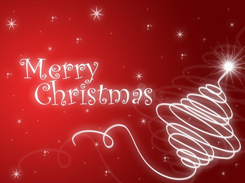 glad jul vektor illustrationer