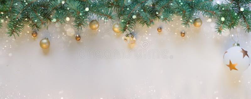 Glad jul och lyckligt nytt år, vit bakgrund arkivbilder