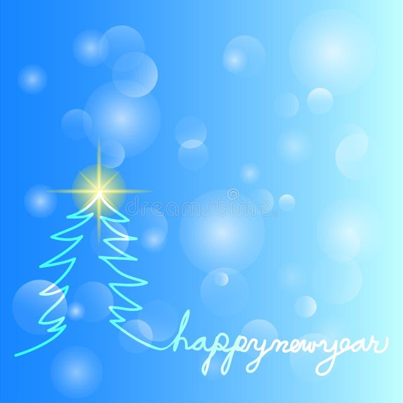 Glad jul och lyckligt nytt ?r stock illustrationer