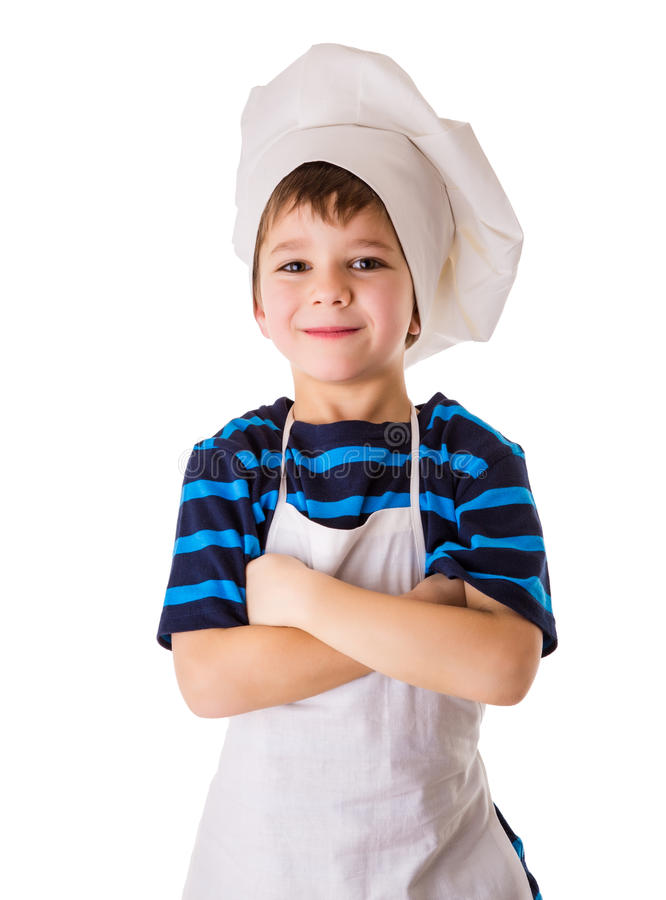 Free Glad Little Chef Stock Images - 37495694