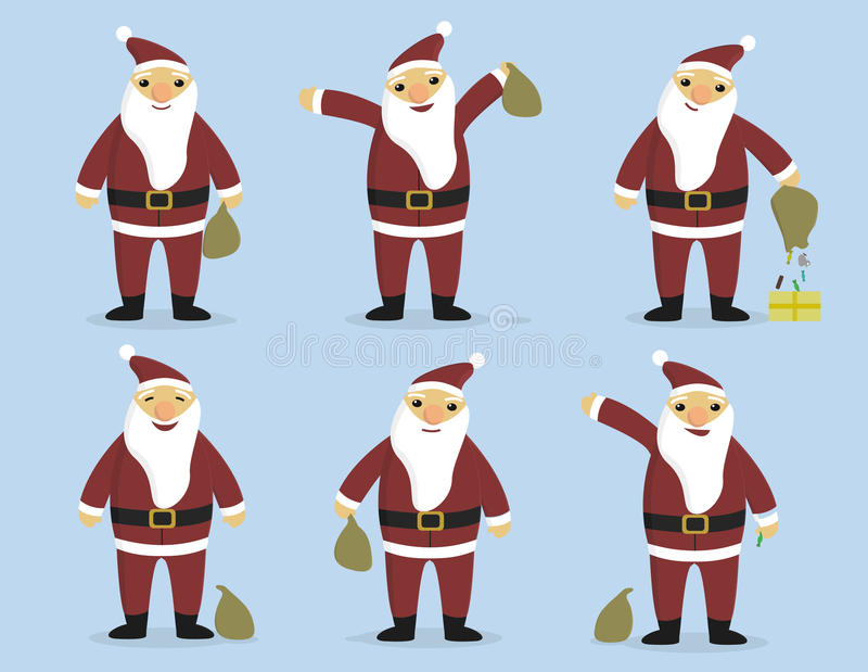 Download Glad_Santa stock vector. Image of sweetness, year, laugh - 83710554