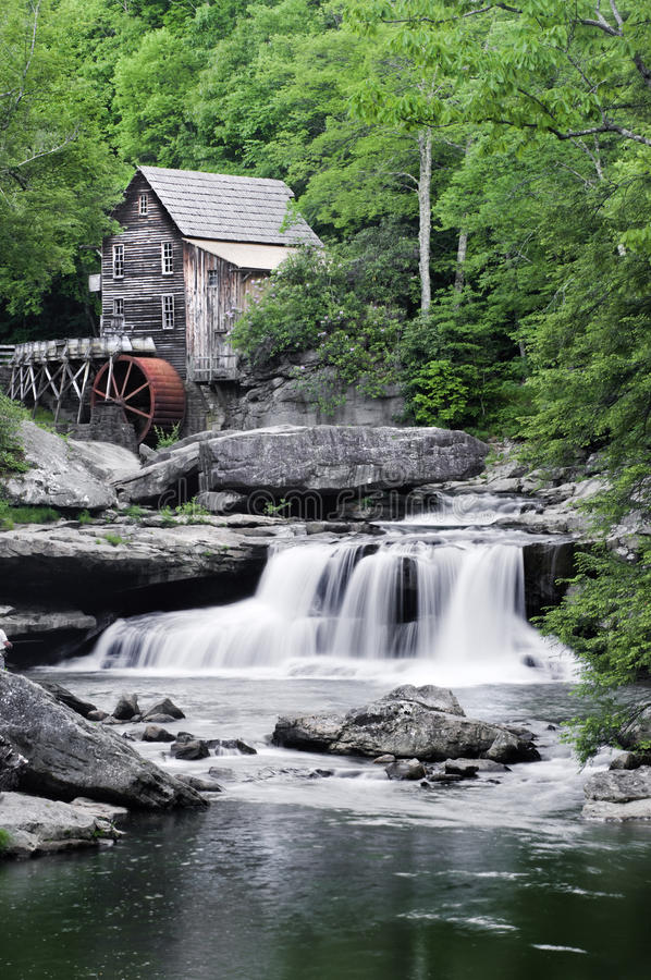 Free Glade Creek Grist Mill Royalty Free Stock Photo - 17533245