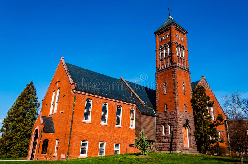 Download Gladfelter Hall, On The Campus Of Gettysburg College, PA Stock Image - Image: 31602161