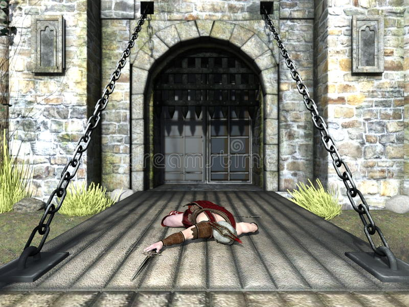 gladiator διανυσματική απεικόνιση