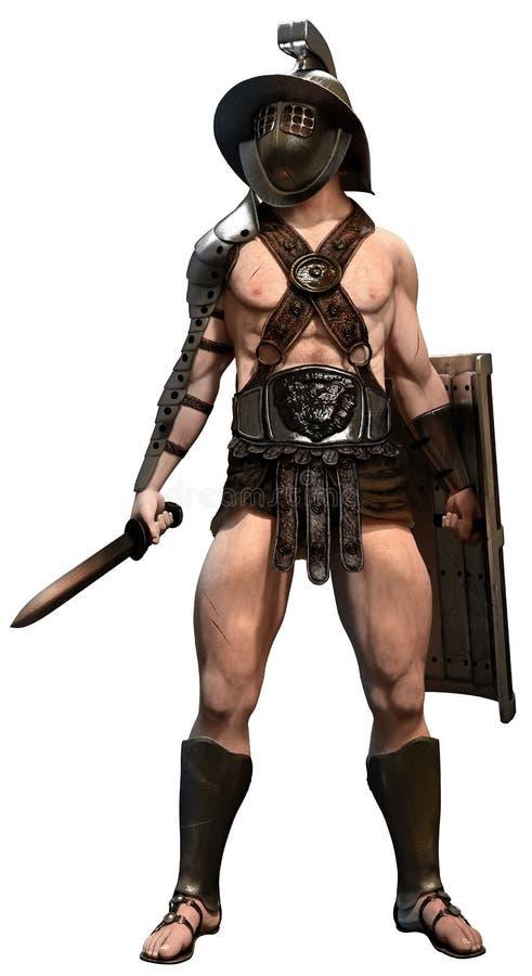 gladiator ilustración del vector