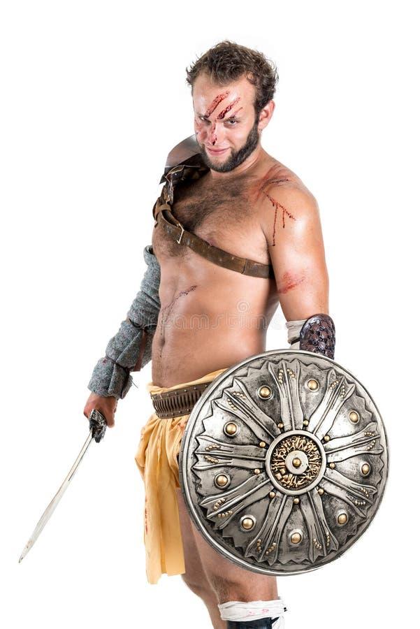 gladiator royaltyfria foton