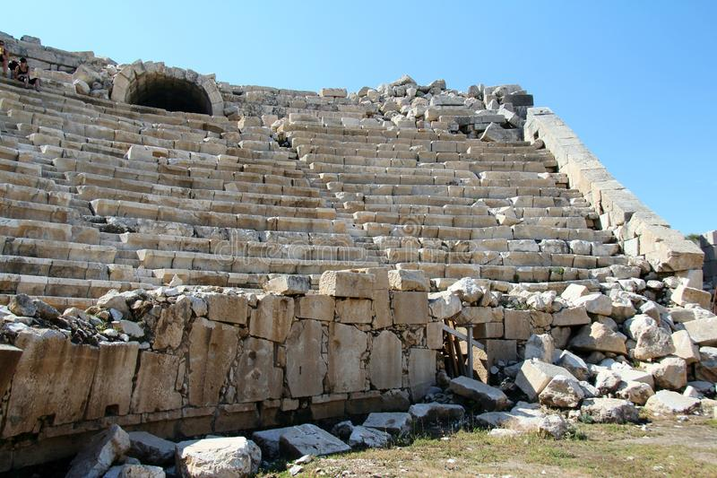 Download Gladiator Amphitheatre stock photo. Image of patara, amphitheatre - 24394916
