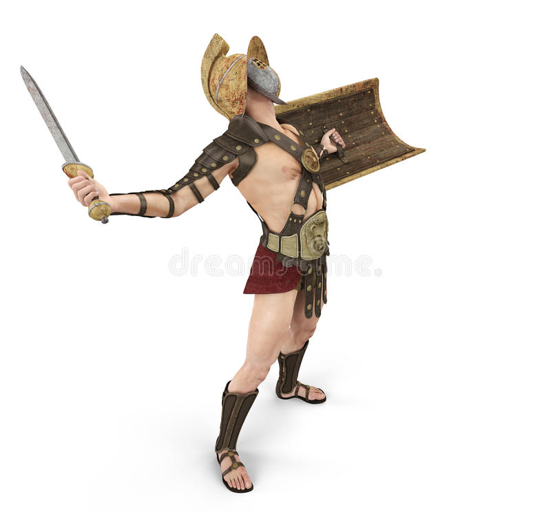 Gladiator The Victory Is Mine Stock Photography