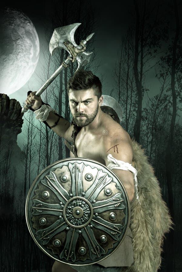 Gladiatore/guerriero fotografie stock libere da diritti