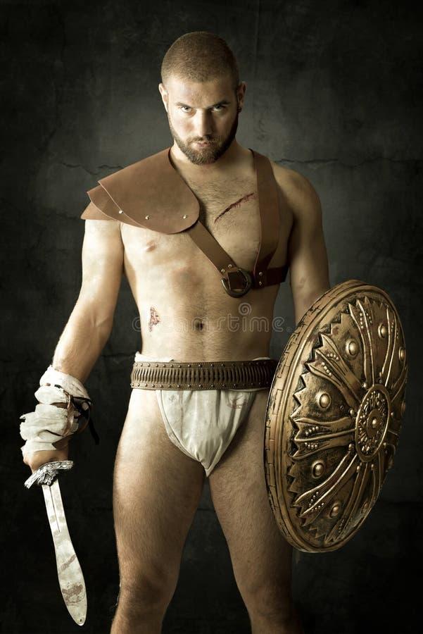 gladiatorski zdjęcie stock