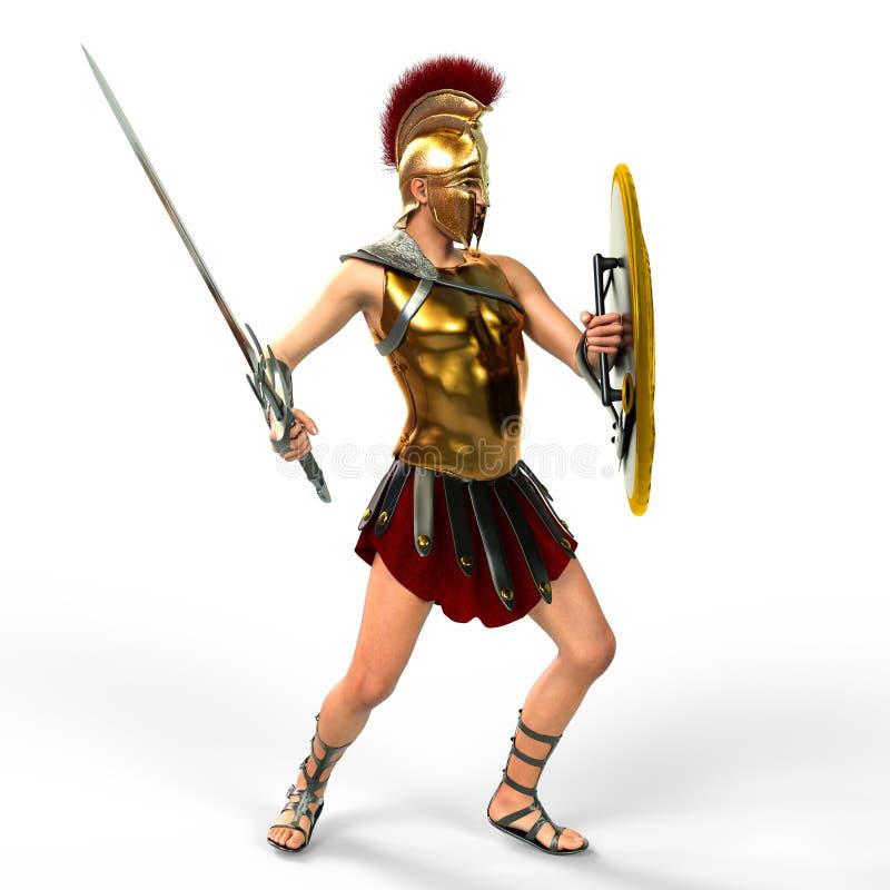 gladiatorski ilustracji