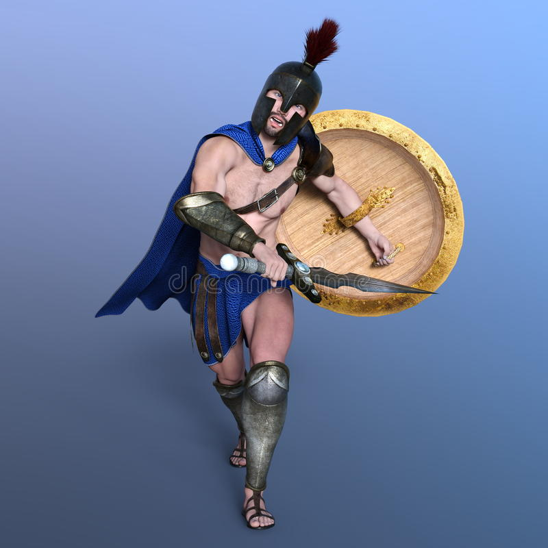 gladiatorski ilustracja wektor