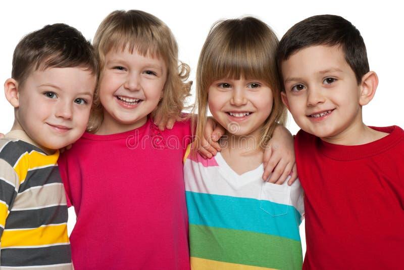 Gladlynt barn royaltyfri fotografi