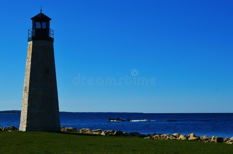 Gladstone Lighthouse royalty free stock image