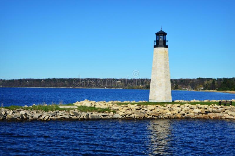 Gladstone Lighthouse royalty free stock photos