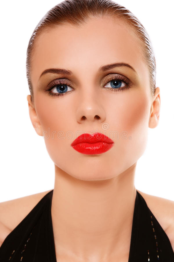Glam beauty royalty free stock image