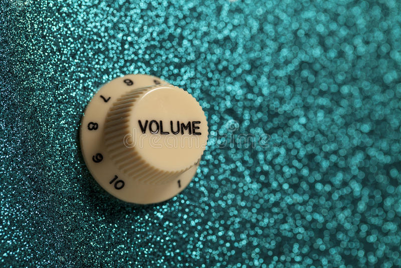 Download Glam Felsengitarren-Lautstärkereglerabschluß Oben Stockbild - Bild von musiker, elektronisch: 26366455