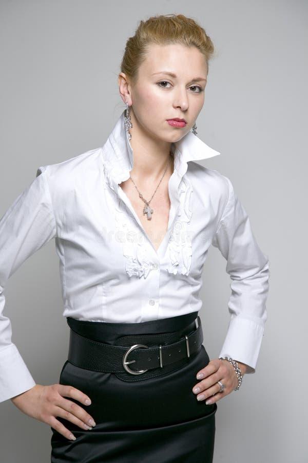 Glam Geschäftsfrau stockbilder