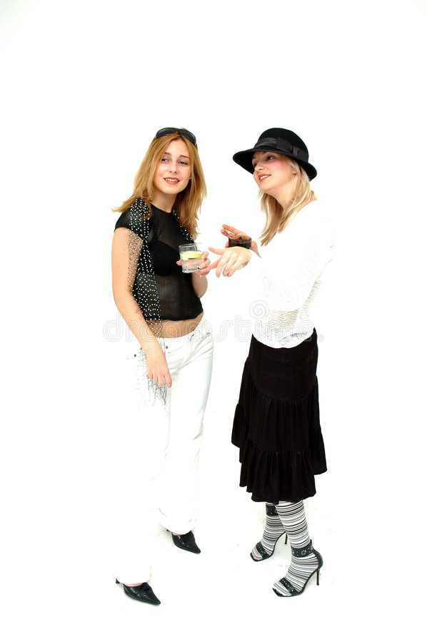 Download Glam Girls Stock Image - Image: 354351