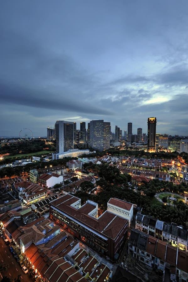 glam kampung新加坡 免版税库存图片