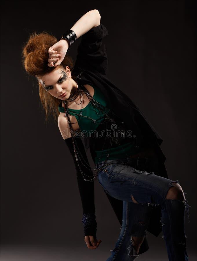 Download Glam Punk Girl Stock Photo - Image: 15409980