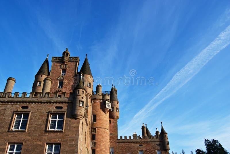 Glamis castle stock photos