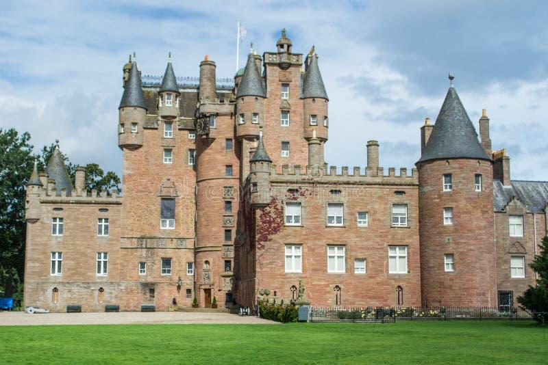 Glamis Castle, Scotland royalty free stock photo