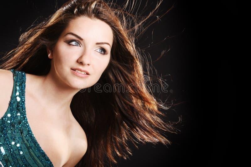 glamorös kvinna royaltyfri fotografi