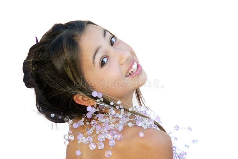 Glamor asiático imagens de stock royalty free
