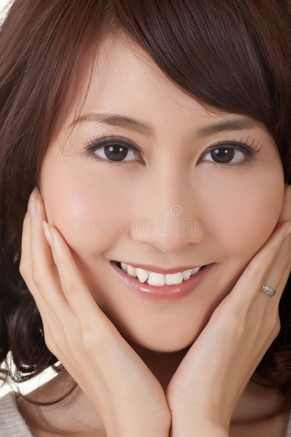 Download Glamor of Asian beauty stock image. Image of happy, asian - 18834795