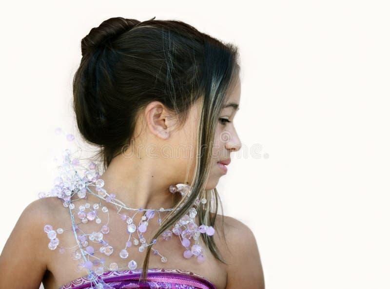 Glamor asiatique images libres de droits